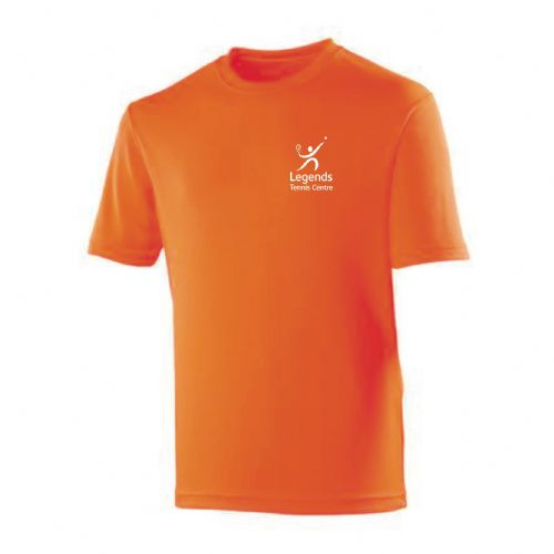 Legends Tennis Orange Team Player 2018 T-Shirt Kids